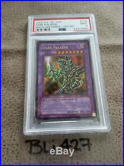 Yu-Gi-Oh! Magician's Force 1st Edition Dark Paladin MFC-105 Ultra Rare PSA 9
