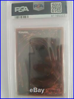 Yu-Gi-Oh! PSA 8 Dark Magician LOB-005, 1st Edition, Wavy 1st PRINT! Bargain