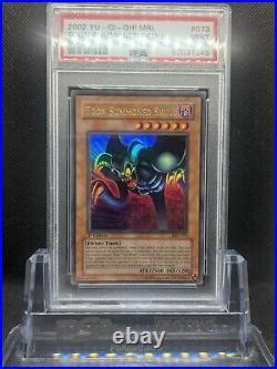 Yu-Gi-Oh! PSA 9 MINT Toon Summoned Skull 1st Edition Magic Ruler
