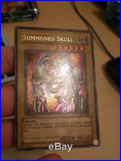 Yu-Gi-Oh! Summoned Skull MRD-003 Ultra Rare 1st Edition Metal Raiders 2002