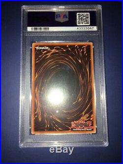 Yugioh Blue Eyes White Dragon 1st Edition SDK PSA 9