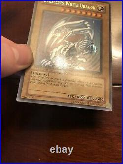 Yugioh! Blue-Eyes White Dragon SDK-001 Ultra Rare 1st Edition NA English