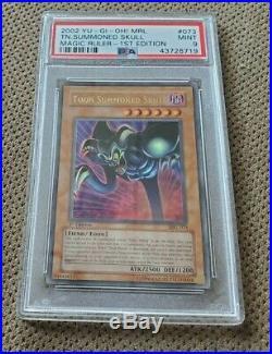 Yugioh Card 1st Edition Toon Summoned Skull MRL-073 PSA 9 Mint