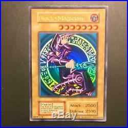 Yugioh Card Dark Magician 2001 Jump Limited Edition English Version Ultra rare