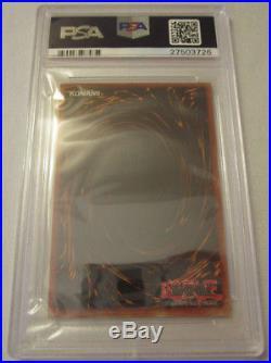 Yugioh Complete Exodia 1st Edition (LOB) Ultra Rare Holo NA Print PSA 9 MINT