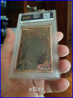 Yugioh Dark Magician LOB-005 1st Edition PSA 9 Strong + Mint Extremely Rare New