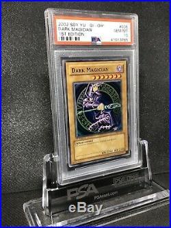 Yugioh Dark Magician SDY-006 1st Edition PSA 10 Ultra Rare Gem Mint