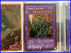 Yugioh Dark Paladin MFC-105 1st Edition Correct Art NM Magician's Force ULTRA RA