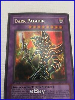 Yugioh Dark Paladin MFC-105 1st Edition Ultra Rare Near Mint Foil