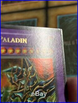 Yugioh Dark Paladin MFC-105 Ultra Rare 1ST EDITION Corrected Art! Very Rare