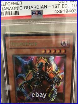 Yugioh Helpoemer PGD-058 1st Edition PSA 10 GEM MINT CARD