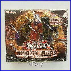 Yugioh Legendary Duelists Ancient Millennium 1st Edition Sealed Booster Box