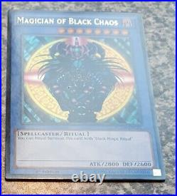 Yugioh Magician of Black Chaos 1st Edition YGLD-ENC01 Ultra Rare Mint