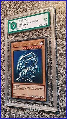 Yugioh Mint 9 PSA Blue Eyes White Dragon CT13-EN008 Ultra Rare Limited Edition