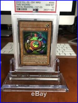 Yugioh Time Wizard MRD-065 1st edition PSA 10 Gem Mint
