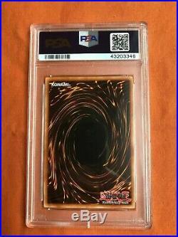 Yugioh Torrential Tribute 1st edition LON-025 gem mint psa 10