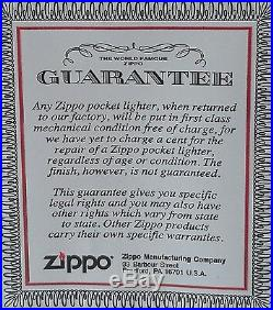 Zippo Lucky Strike PinUp Girls LIMITED EDITION Lucky Lips ULTRA RARE 2007